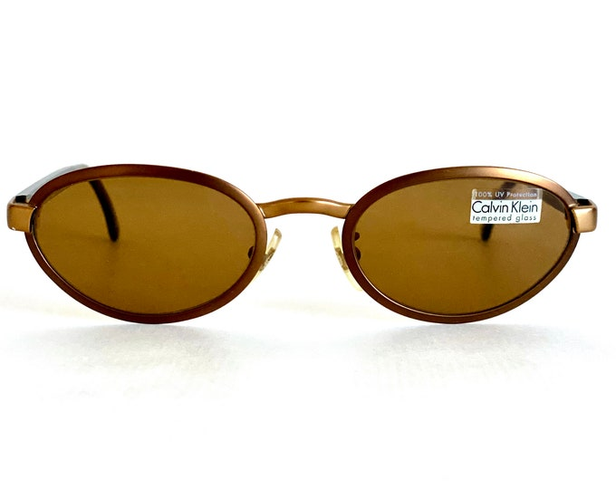 Calvin Klein 250S Vintage Sunglasses – New Old Stock – Made in Italy