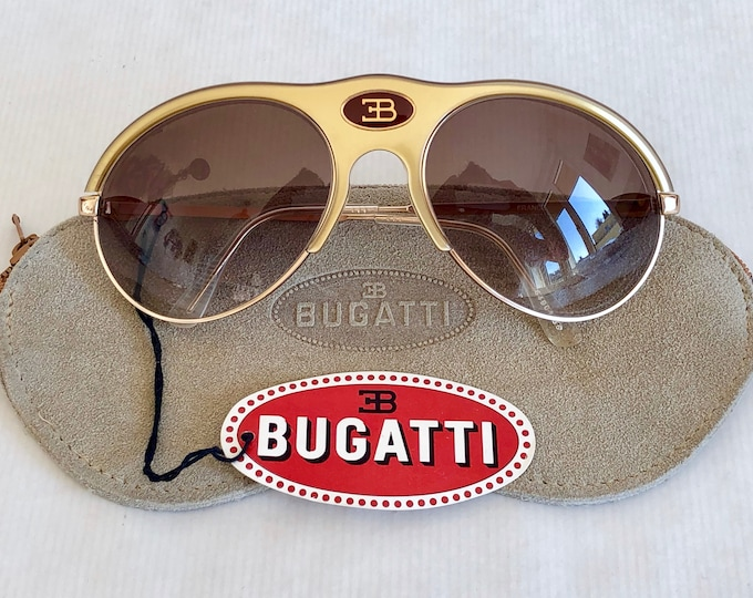 Bugatti 64901 Vintage Sunglasses – New Old Stock – Including Softcase and Tag