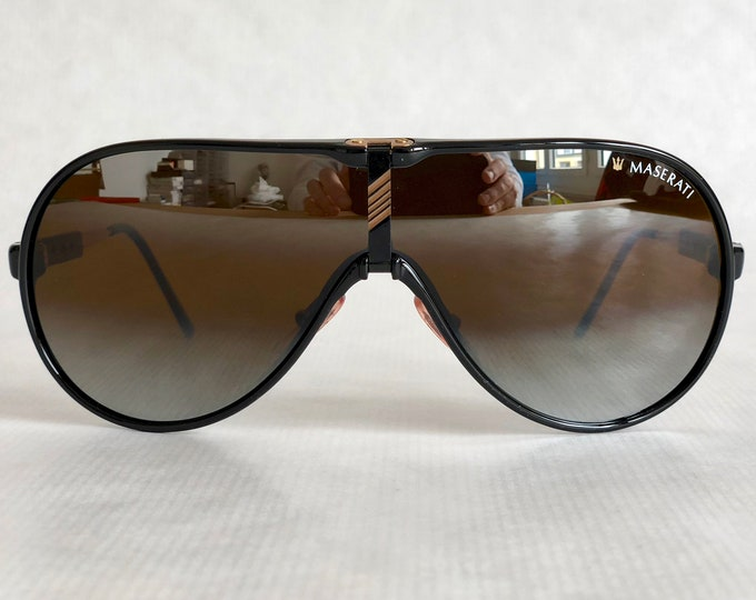 Maserati 6119 50 Vintage Sunglasses - Full Set - New Old Stock