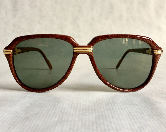 Cartier Vitesse Vintage Sunglasses - Full Set including 2 Cases - New Unworn Deadstock