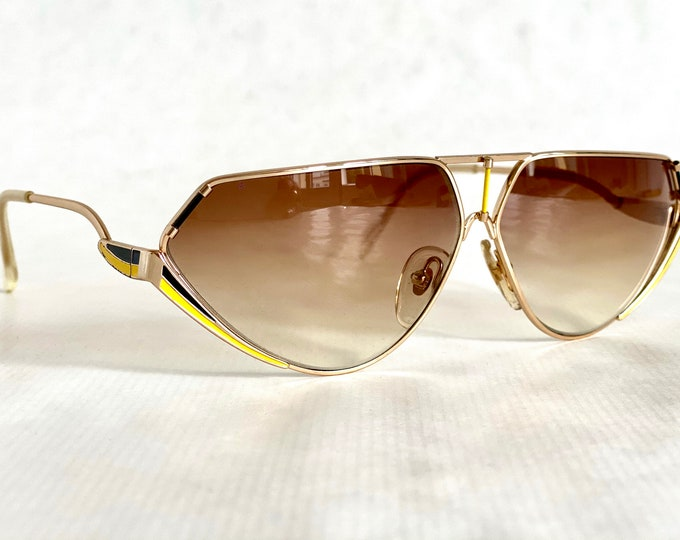 Giovani Favetto Pantera Vintage Sunglasses – Made in Italy – New Old Stock – Including Case
