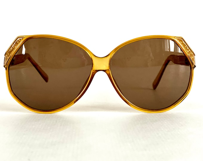 Vintage 1980s Christian Dior 2209 Sunglasses – Made in West Germany – New Old Stock