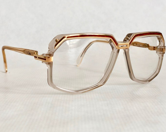 Cazal 631 Col 140 Vintage Eyeglasses New Unworn Deadstock Made in West Germany
