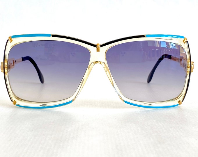 Vintage 1987 Cazal 864 Col 283 Sunglasses – New Old Stock – Made in West Germany – Including Cazal Case