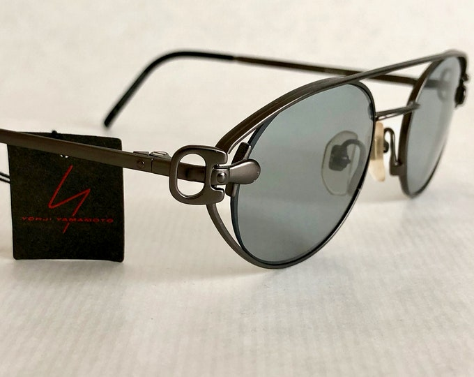 Yohji Yamamoto 52 4109 Vintage Sunglasses – New Old Stock – Made in Japan