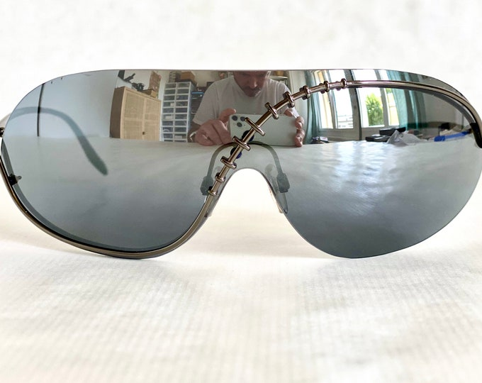 Vivienne Westwood Harlock Darkness Vintage Sunglasses – New Old Stock – Full Set