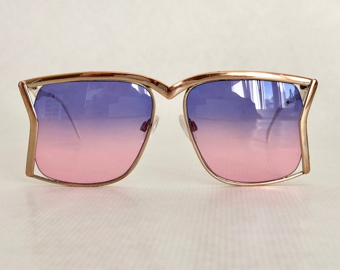 Renato Balestra Concavo Vintage Sunglasses Made in West Germany