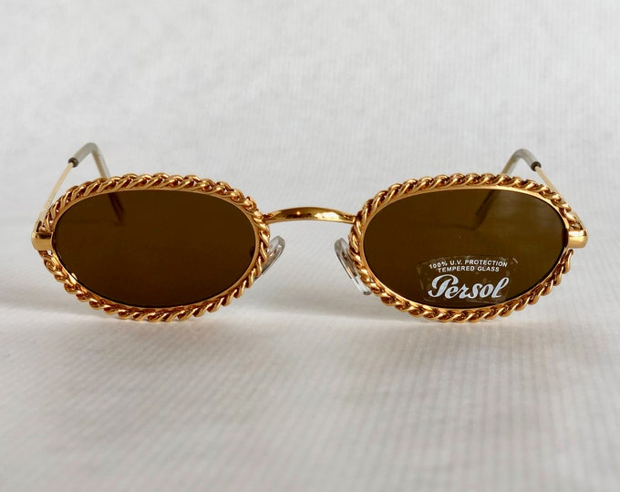 Moschino by Persol MM506 Vintage Sunglasses – Including Case - New Old Stock