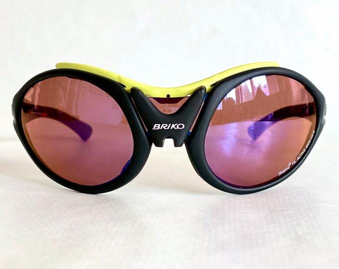 Mario Cipollini's Briko Jumper Vintage Sunglasses – New Old Stock – Full Set – Made in Italy