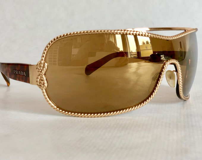 PRADA SPR 62h Vintage Sunglasses – New Old Stock – Made in Italy