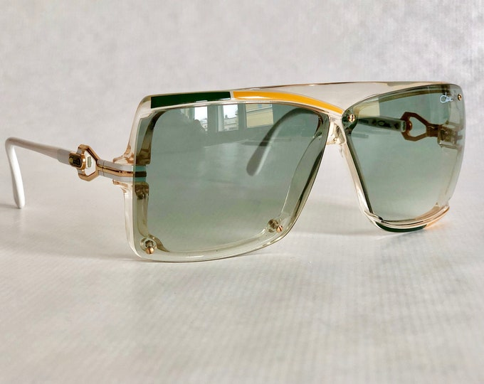 Cazal 859 Col 246 Vintage Sunglasses – New Old Stock – Made in West Germany – including Cazal Pen