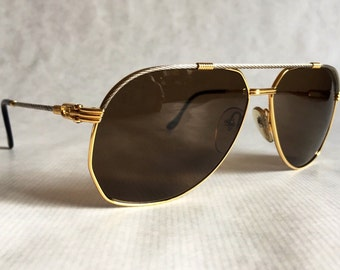 3e342d0cac9 Reserved for Lunetier Vintage     Fred America Cup Vintage Sunglasses Gold  Plated New Old Stock Made in France