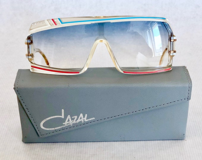 Cazal 858 Deluxe Col 253 Vintage Sunglasses – New Old Stock – Made in West Germany – Including Case