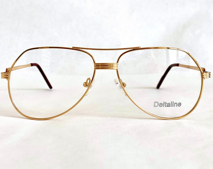 Deltaline Congressman Vintage Glasses – New Old Stock – Made in Italy