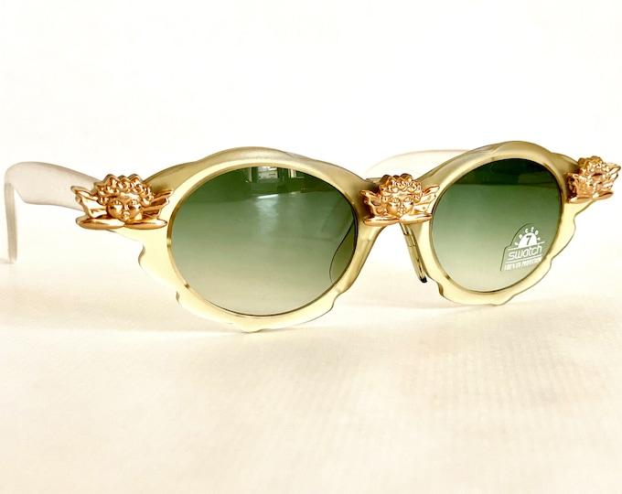 Vintage Swatch Eyes Christmas 1993 Sunglasses – Full Set – New Old Stock