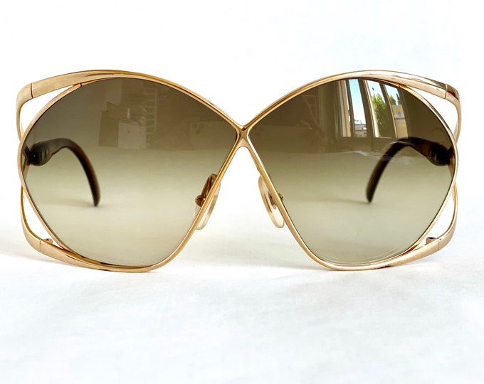 Christian Dior 2056 41 Vintage Sunglasses – New Old Stock – Made in Austria in the 1980s