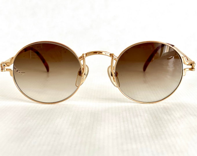 22K Gold Plated Jean Paul GAULTIER 55 - 3171 Vintage Sunglasses – New Old Stock – Made in Japan