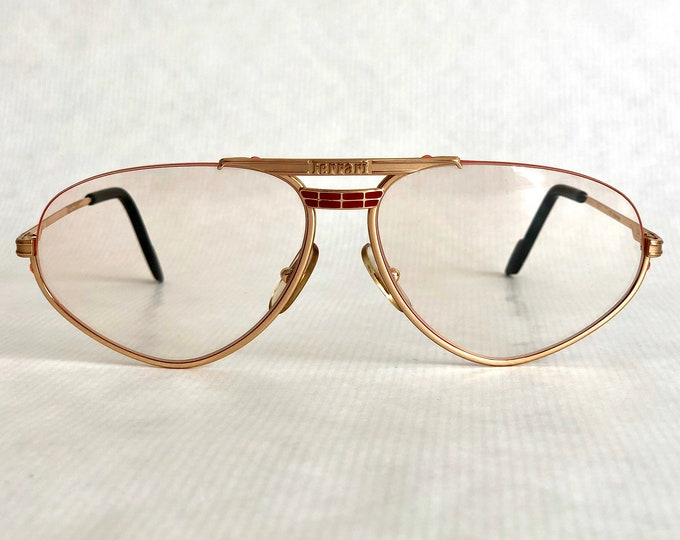 Ferrari F1 524 Vintage Eyeglasses New Old Stock Made in Italy