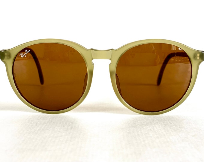 Vintage 1980s Ray-Ban by Bausch & Lomb Traditionals Style B Sunglasses – New Old Stock – Made in USA