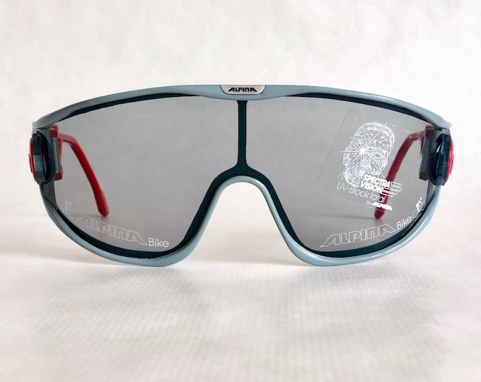 Alpina Bike Vintage Sunglasses Made in West Germany New Old Stock including Softpouch