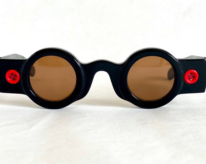 Patrick Kelly Paris «Peanut 25» Vintage Sunglasses - New Old Stock - Made in France