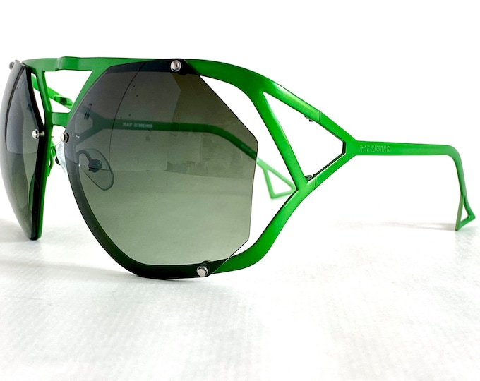 Raf Simons RAF 4B Vintage Sunglasses – Made in France – New Old Stock – Including Softcase