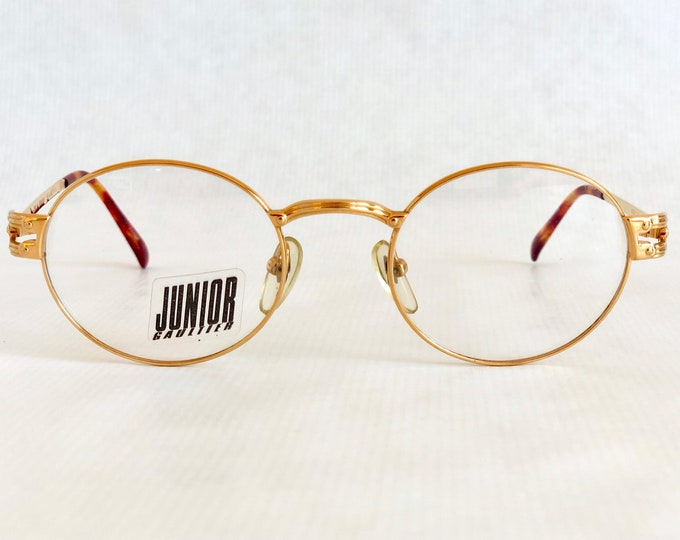 22K Gold Junior GAULTIER 57-3175 Vintage Glasses – New Old Stock