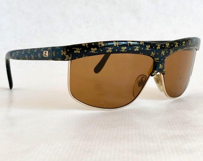 Courreges 8753-8 Vintage Sunglasses – Made in France – Scratched Lens