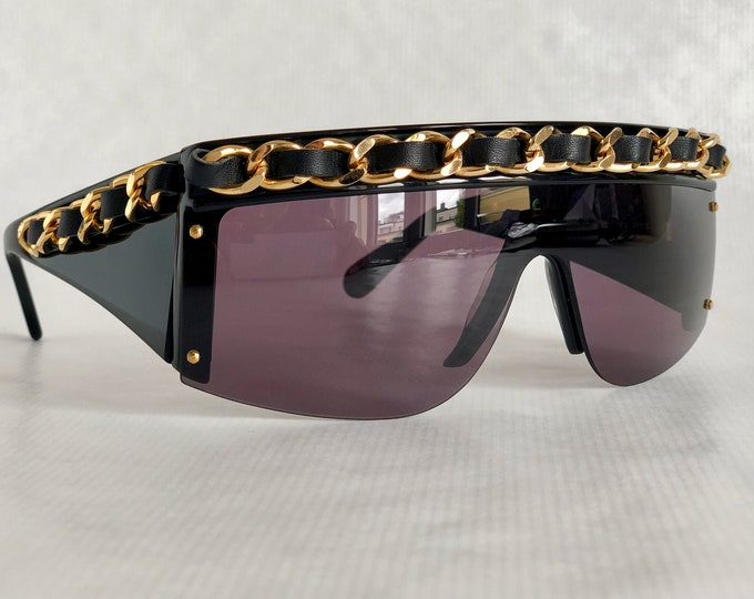 CHANEL 01455 Vintage Sunglasses – New Old Stock – Including Box, Case and Cloth