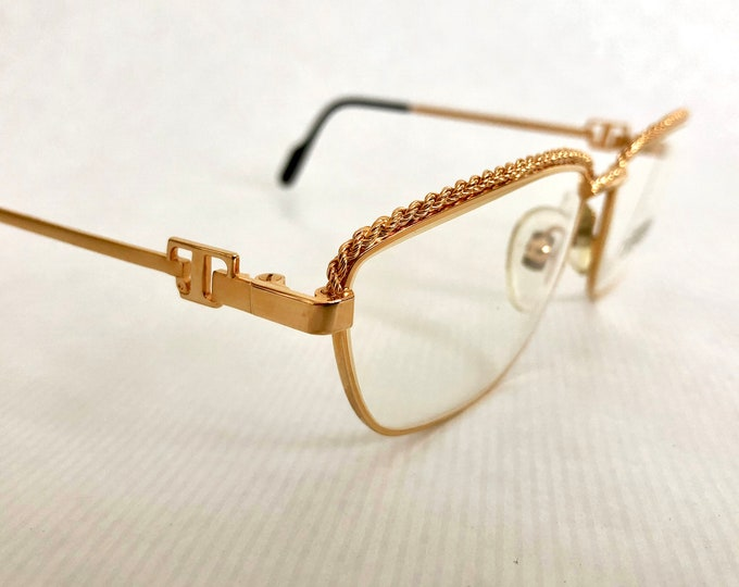 Tiffany T3/02 Vintage Glasses - 23Kt Gold Plated - New Old Stock