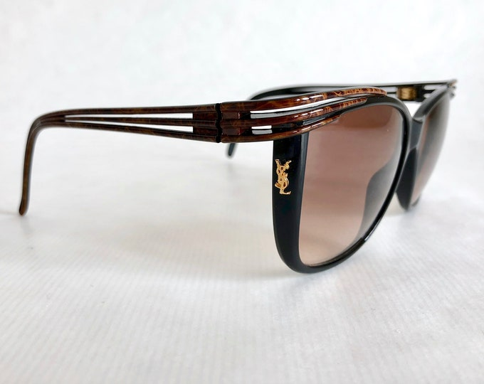 Yves Saint Laurent 8631-1 Y 139 Vintage Sunglasses Made in France New Unworn Deadstock