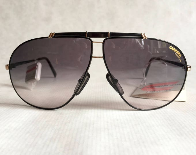 Carrera 5401 91 Stealth Vintage Sunglasses including Case and Tags - New Old Stock