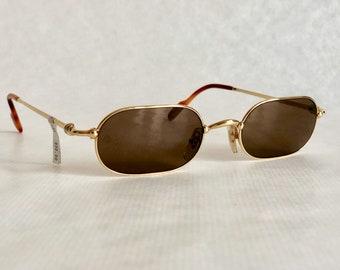 1df7b01663 Cartier Deimos Trinity 22K Gold Vintage Sunglasses – Full Set – New Old  Stock