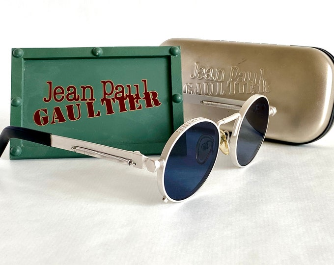 Jean Paul Gaultier 56-8171 Vintage Sunglasses – Including Gaultier Case and Display – Made in Japan in the 1980s