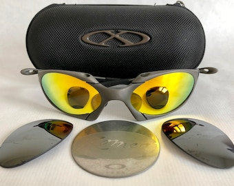 1d0930542fc82 Oakley X Metal Romeo Plasma Vintage Sunglasses including X Metal Soft  Vault