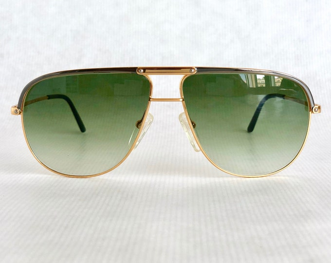 Creative Line 722-17 by Essilor 22k Gold Vintage Sunglasses – Made in France – New Old Stock