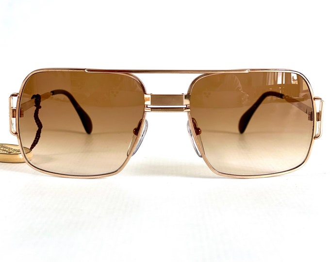 Vintage 1970s Bausch & Lomb Vogue d'Or 409 Sunglasses – 20k Gold Filled – Made in West Germany – New Old Stock