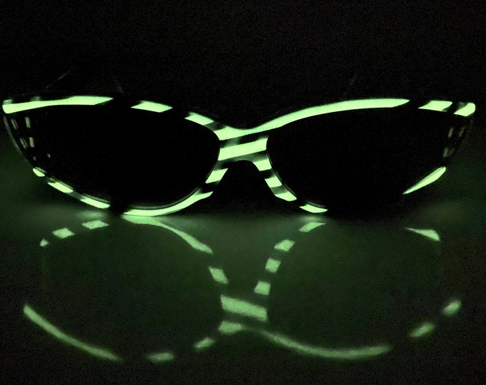 Vintage 1985 Glow-in-the-Dark Alain Mikli 041 223 Sunglasses – New Old Stock – Made in France