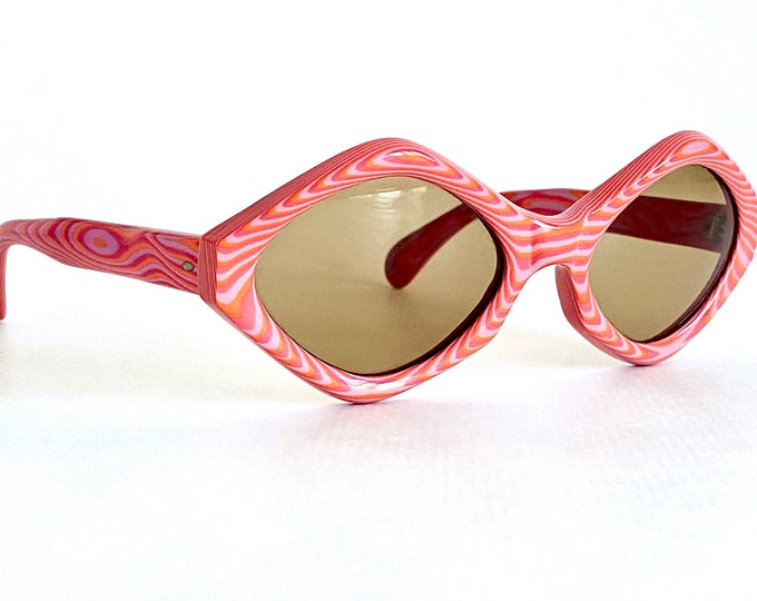 Sol Amor Sorbet Vintage Sunglasses - New Unworn Deadstock – Made in France