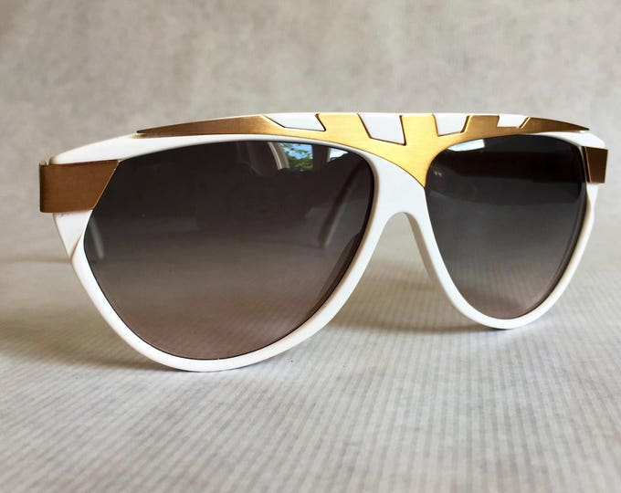 Alpina Genesis Project G80 24K Gold Plated Vintage Sunglasses Made in West Germany New Old Stock