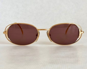 725a720a311 Jean Paul GAULTIER 56 - 3172 Vintage Sunglasses New Old Stock including  Gaultier Case