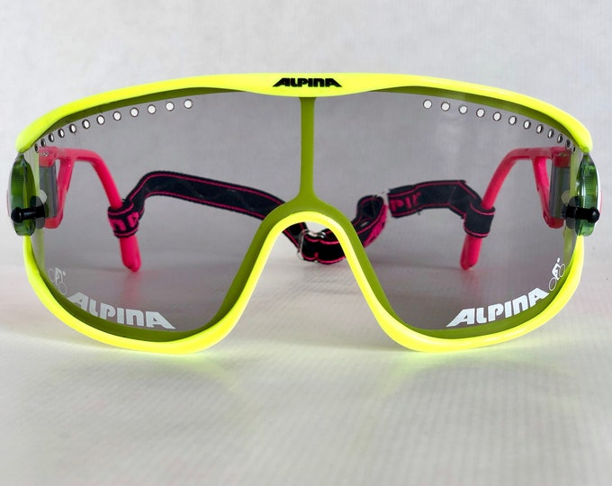 Alpina Super-Bike Vintage Sunglasses – Full Set – Made in West Germany – New Old Stock