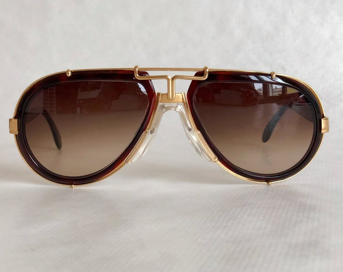 Cazal 642 Col 97/624 Vintage Sunglasses – Made in West Germany – New Old Stock – Including Cazal Cloth