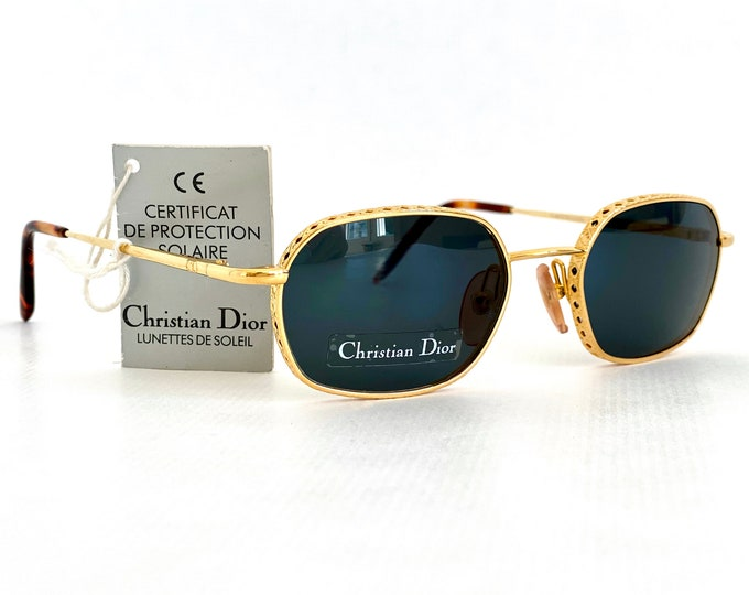 Vintage Christian Dior Barbara Sunglasses – New Old Stock – Made in Austria in 1995