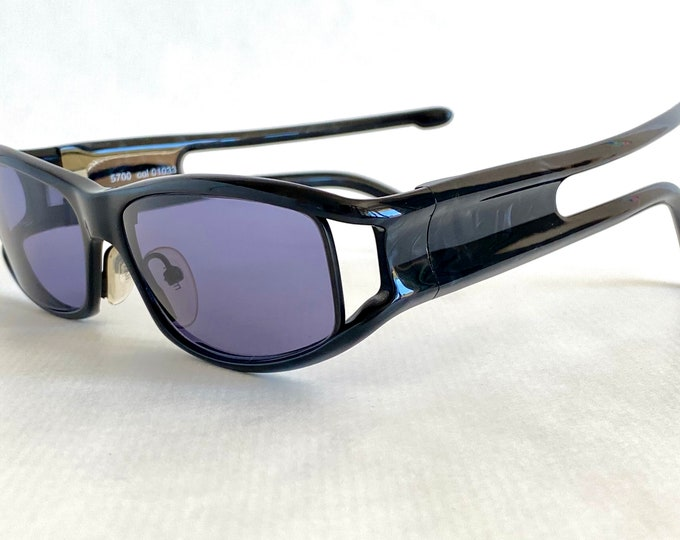 Vintage 2001 Alain Mikli 5700 col 01033 Spider Sunglasses – New Old Stock – Made in France
