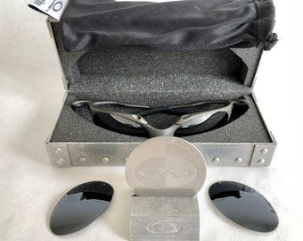 0aaa2a96fd ... wholesale oakley x metal romeo 1 vintage sunglasses new old stock including  x metal vault coin