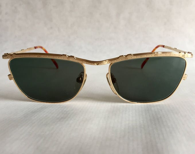 22kt Gold JUNIOR GAULTIER 57 - 3174 Vintage Sunglasses New Unworn Deadstock