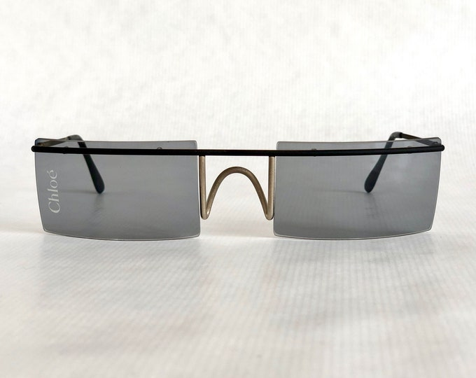 Chloé Show 2 Vintage Runway Sunglasses – New Old Stock – Made in Italy