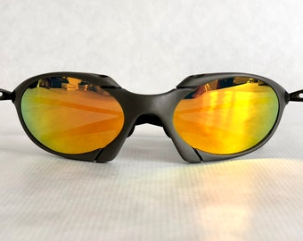 37d7baa5d3 purchase fuse lenses for oakley crosshair 2012 c0d1f 86396  sweden oakley x  metal romeo plasma vintage sunglasses including x metal soft vault coin and  fuse