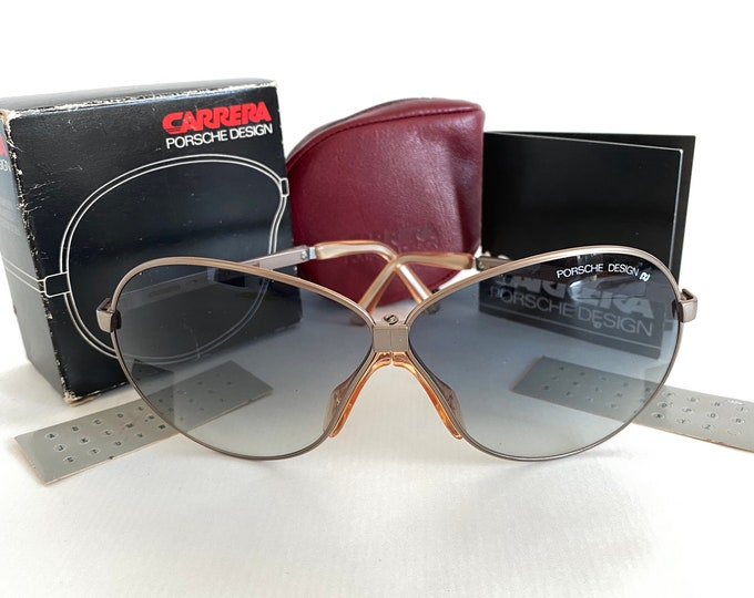 Vintage Porsche Design 5626 Folding Sunglasses – Full Set – New Old Stock